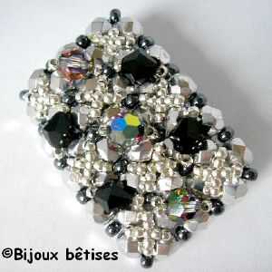 Broche Vitrail medium