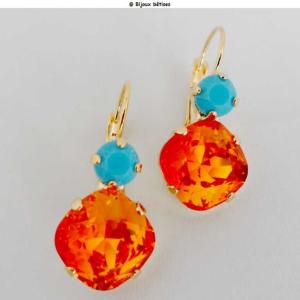 Duo carré Fireopal